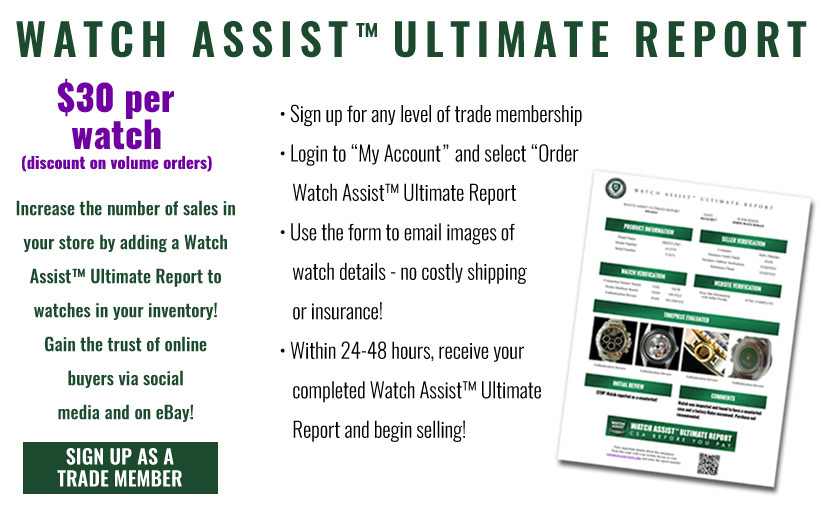 Watch Assist Ultimate Reports